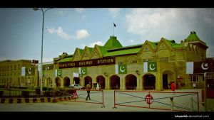 Railway Station by IshqAatish