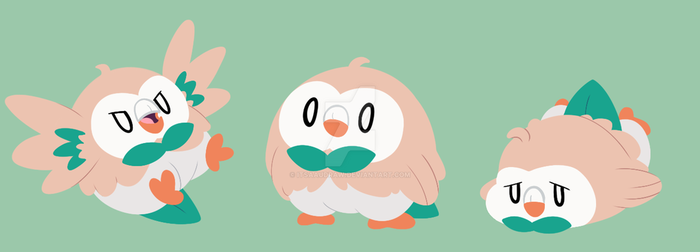 Rowlets by itsaaudra