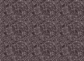 Paisley Wool Woven Fabric BLK by Jaxxys-Stock