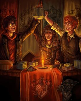 Potter Party by KylePattersonDesign