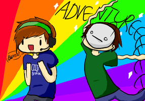 Pewdiecry: ADVENTUREEEEEE by FallingMelody