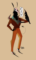 Grimsley And The Crow by callupish