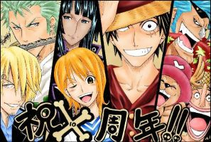 Strawhat pirates by kenimichi