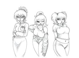 The Chipettes by whitedog1