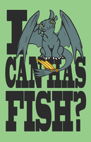 I Can Has Fish? by Littletde