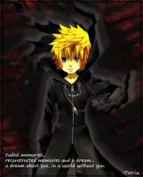 Roxas in the darkness by 00Petrix00