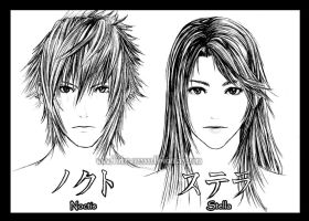 Noctis and Stella by Tidus-902000