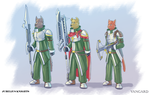 Jubelius Knights Concept art by 7THeaven