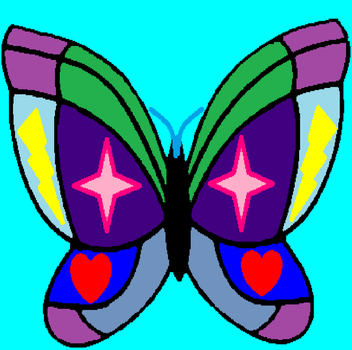 Me as a butterfly by RusherRosemary