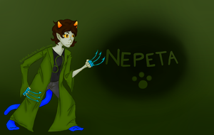 Nepeta Wallpaper 2 by Quirk19
