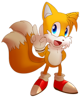 Tails drawing by BaconBloodFire
