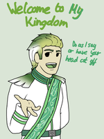 Welcome to my kingom by MissSnowBell