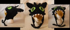 Toothless Hat by Cloud-Leporifelis