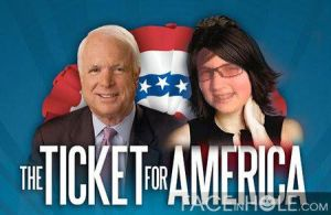 Me as Sarah Palin by OnThisBoat022