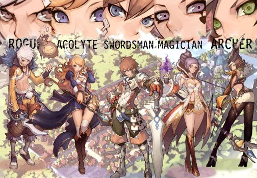 Ragnarok Online 2 Collage by ParatuelVenatir