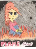 AT: Flame Princess...MV, Edited and Coloured by lizzy905