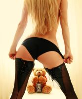 Naughty teddy by Slawa