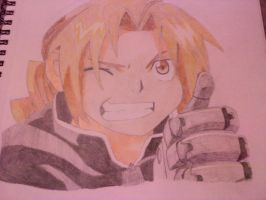 Ed from Fullmetal Alchemist by BunnyWithLasers
