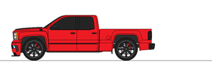 2014 Chevy Silverado SS extended cab short bed by airsoftfarmer