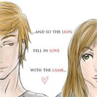 The Lion and the Lamb by ninu by Twilight-fan-club