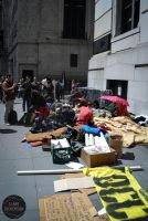 Occupy Wall Street by ClareDickerson