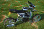 KZX 1000 bike I designed myself (3D anaglyph) by waigy