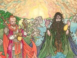 The Priests of Ice and Fire by Gumshorts