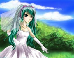 Hatsune Miku: Running to my dreams by Athena-King