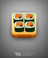 Sushi icon by AndexDesign