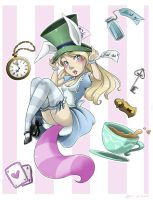 .: Pin-Up Alice :. by xSkyeCrystalx