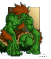 Blanka by Joe NG by Natephoenix