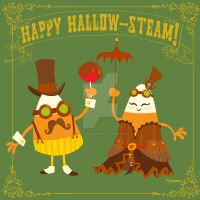 happy hallow-steam by BrianKesinger