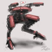 Nippon mech robot by dimodee