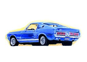 Shelby GT500 by johnwickart