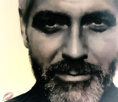 George Clooney by TheJLArts