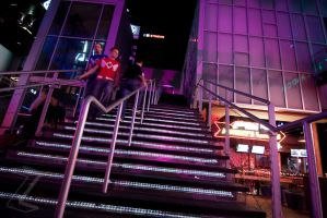 The Stairs at Power and Light by ZeeZedZee