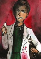 Dr. Josef Mengele by HerHH-Idiot