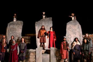 Scene Design for Macbeth - 6- Festival 56 - 2013 by brainsaw777