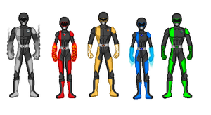 Power Rangers Gaia Force by Neph001
