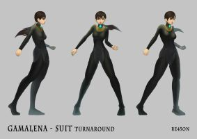 Gamalena suit by re45on