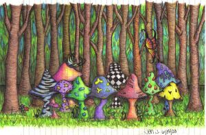 Shrooms by thatonechik77