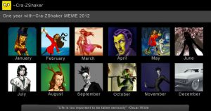 Art Summary 2012 by Cra-ZShaker