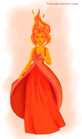 Flame Princess by 7Lisa