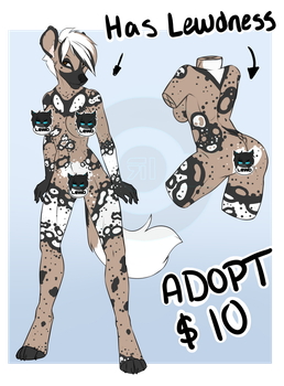 African Wild Dog adopt - SOLD by ryniainesory