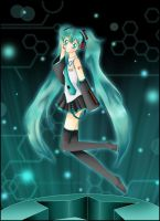 Hatsune Miku by usagiprincess