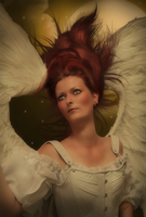 Vintage Angel by PaperDreamerArt