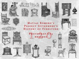 History Of Ancient Furniture by matiasromero