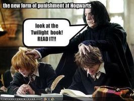 New form of punishment at Hogwarts... by cullen1640