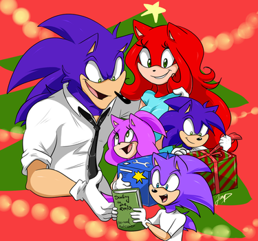 Christmas Family by CobaltPie
