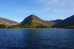Fleetwith Pike and Buttermere by scotto